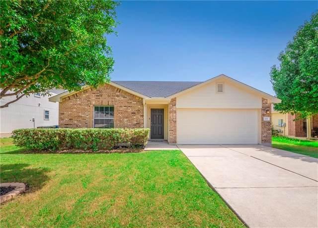 305 Wegstrom St, Hutto, TX 78634 (#2681617) :: Service First Real Estate