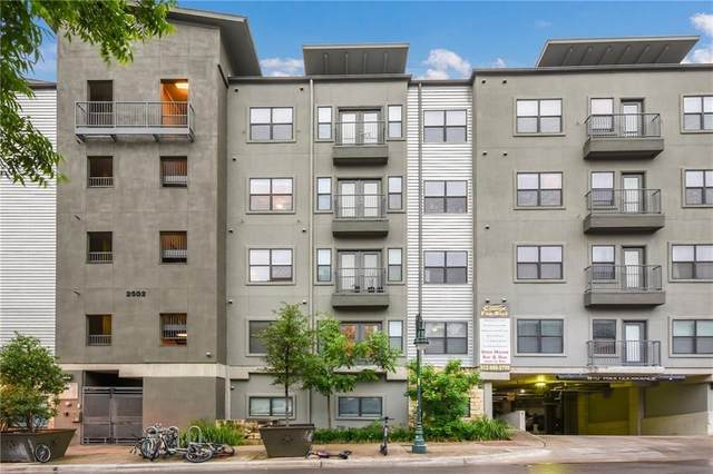 2502 Leon St #315, Austin, TX 78705 (#2685036) :: Realty Executives - Town & Country