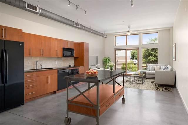 2124 E 6th St #206, Austin, TX 78702 (#2761481) :: Ben Kinney Real Estate Team