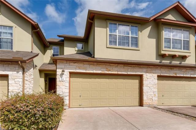 2410 Great Oaks Dr #202, Round Rock, TX 78681 (#2843397) :: The Smith Team