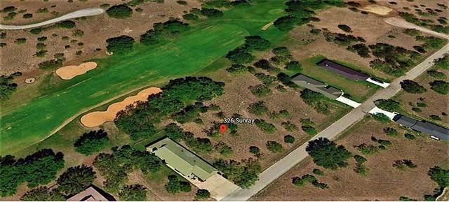 326 Sun Ray, Horseshoe Bay, TX 78657 (#2880945) :: Papasan Real Estate Team @ Keller Williams Realty