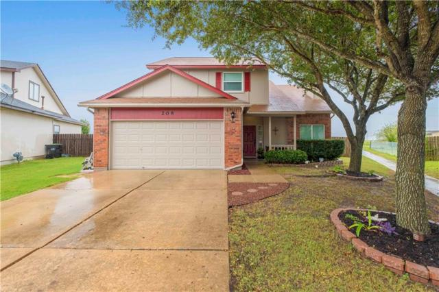 208 Mallard Cv, Hutto, TX 78634 (#2890377) :: Amanda Ponce Real Estate Team
