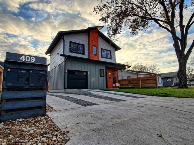 409 W 55 1/2 St #1, Austin, TX 78751 (#2950281) :: First Texas Brokerage Company