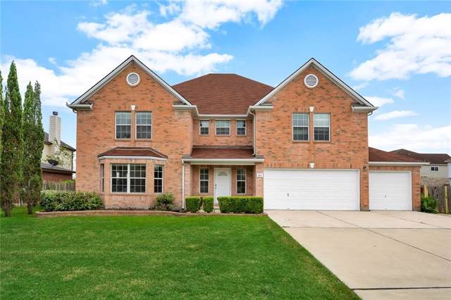 613 N Dark Tree Ln, Round Rock, TX 78664 (#2961769) :: Ben Kinney Real Estate Team