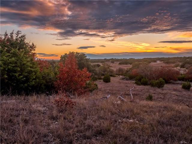 Lot 54 S Waterbuck Way, Lampasas, TX 76550 (#2985887) :: Lucido Global