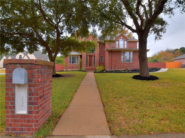 12 Forest Mesa Dr, Round Rock, TX 78664 (#3011451) :: Watters International