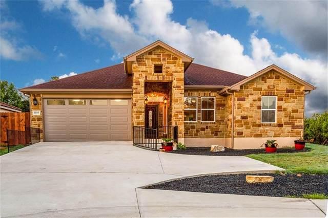 3607 Roosevelt Cv, Lago Vista, TX 78645 (#3068435) :: Ben Kinney Real Estate Team