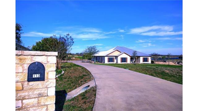 113 Tonkawa Rdg, Hutto, TX 78634 (#3119604) :: Papasan Real Estate Team @ Keller Williams Realty