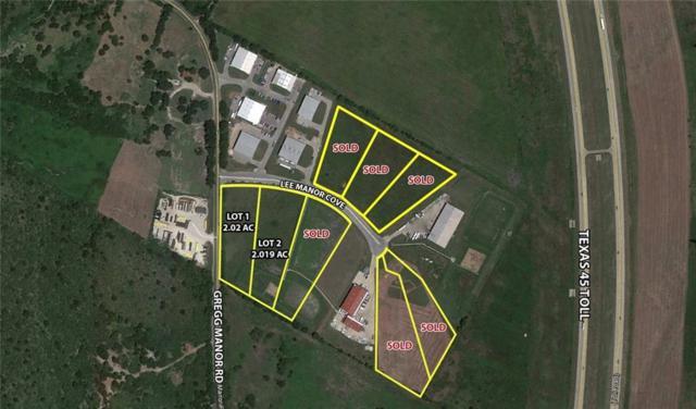 6809 Lee Manor Cv, Manor, TX 78653 (#3167081) :: Papasan Real Estate Team @ Keller Williams Realty