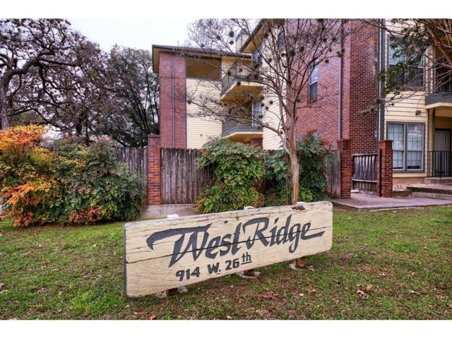 914 W 26th St #207, Austin, TX 78705 (#3219538) :: The Smith Team