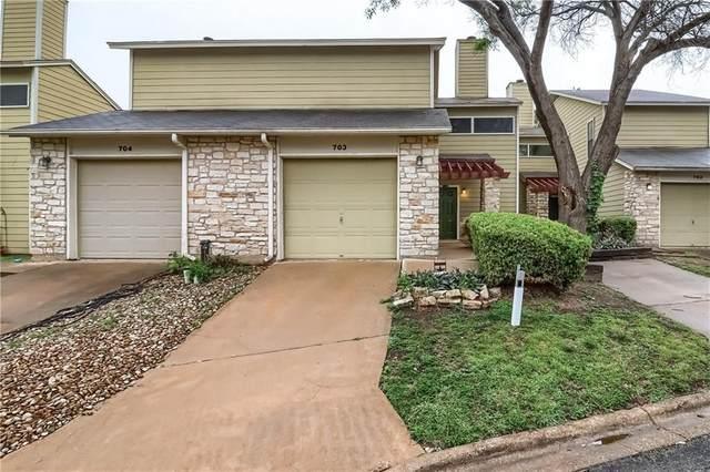 512 Eberhart Ln #703, Austin, TX 78745 (#3228797) :: Papasan Real Estate Team @ Keller Williams Realty