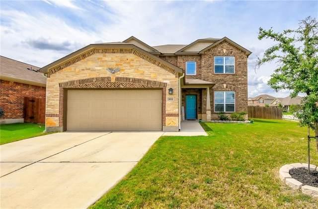 424 Hendelson Ln, Hutto, TX 78634 (#3289360) :: Ben Kinney Real Estate Team
