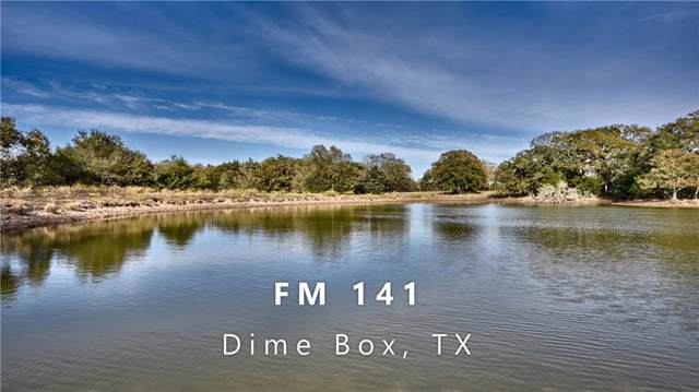 6094 Fm 141, Dime Box, TX 77853 (#3309237) :: The Perry Henderson Group at Berkshire Hathaway Texas Realty