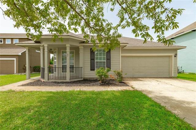107 Holmstrom St, Hutto, TX 78634 (#3325750) :: The Perry Henderson Group at Berkshire Hathaway Texas Realty