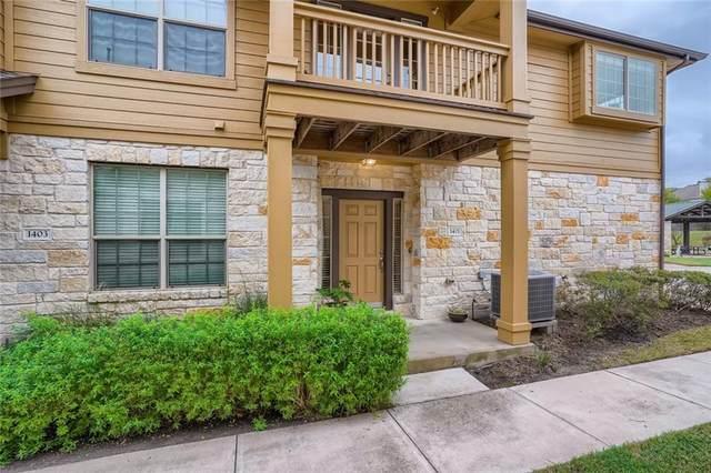 1310 W Parmer Ln #1401, Austin, TX 78727 (#3359285) :: Front Real Estate Co.