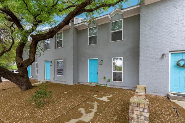 6211 Manor Rd #104, Austin, TX 78723 (#3370960) :: The Perry Henderson Group at Berkshire Hathaway Texas Realty