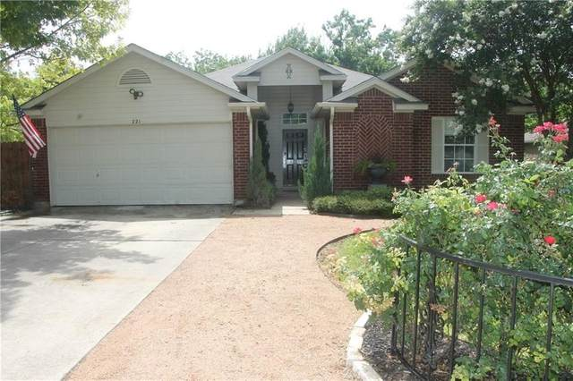 221 Little Lake Rd, Hutto, TX 78634 (#3390697) :: Service First Real Estate