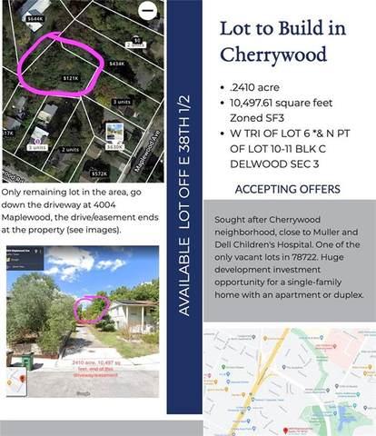 4006C Maplewood Ave, Austin, TX 78722 (#3417682) :: Papasan Real Estate Team @ Keller Williams Realty