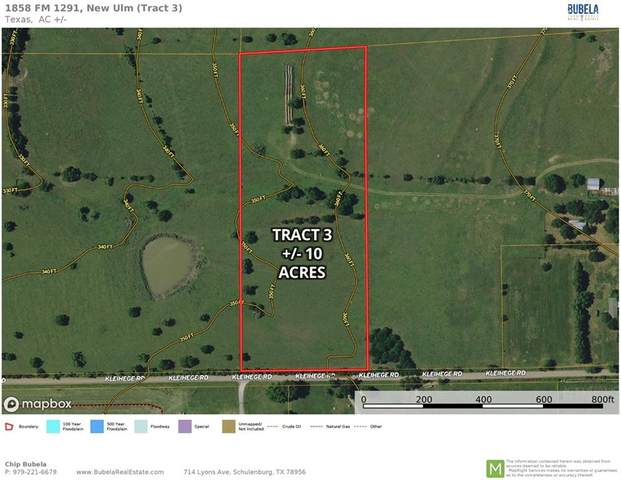 1858 Tract 3 Fm 1291, New Ulm, TX 78950 (MLS #3420107) :: The Lugo Group