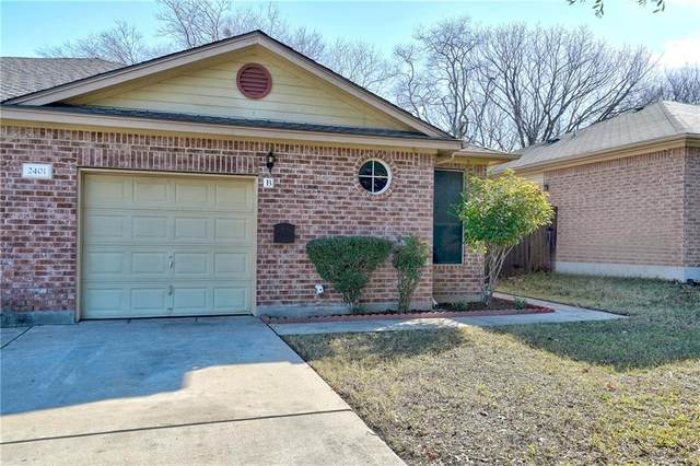 2401B Curry Loop, Round Rock, TX 78664 (#3465179) :: 12 Points Group
