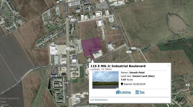 115 E Mlk Jr Industrial Blvd, Lockhart, TX 78644 (MLS #3483718) :: Bray Real Estate Group