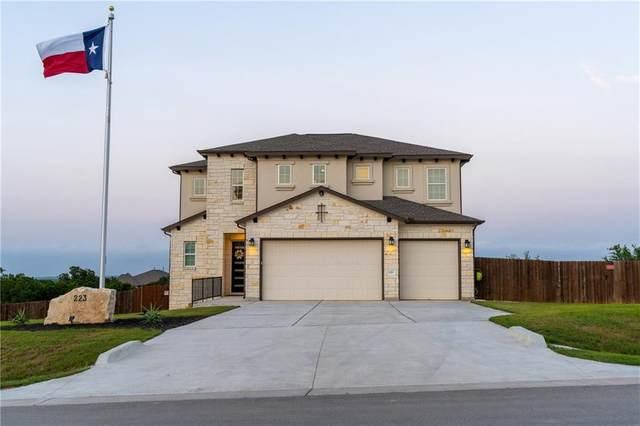 223 Fort Sumner St, Dripping Springs, TX 78620 (MLS #3496983) :: NewHomePrograms.com