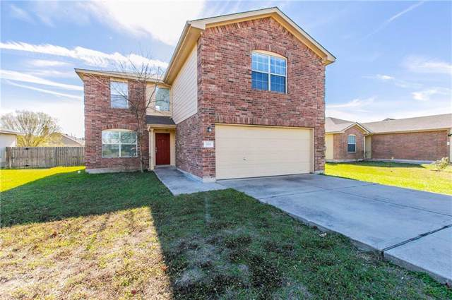 309 Wegstrom St, Hutto, TX 78634 (#3525375) :: The Perry Henderson Group at Berkshire Hathaway Texas Realty
