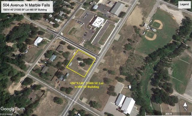 504 Avenue N, Marble Falls, TX 78654 (#3559182) :: Lucido Global