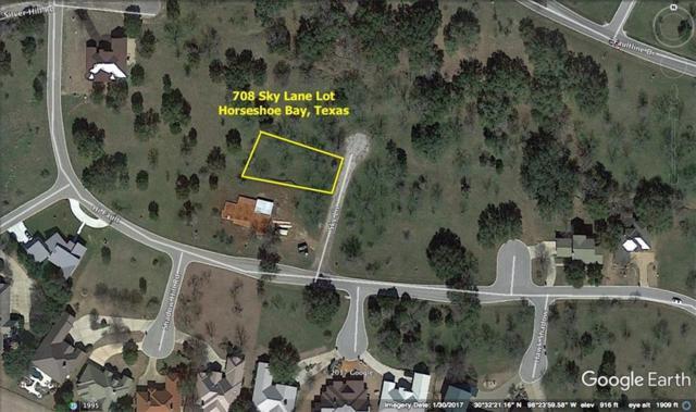 708 Sky Ln, Horseshoe Bay, TX 78657 (#3609424) :: The Heyl Group at Keller Williams