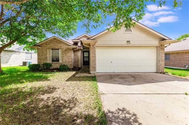 508 Clearcreek Dr, Leander, TX 78641 (#3672359) :: Papasan Real Estate Team @ Keller Williams Realty