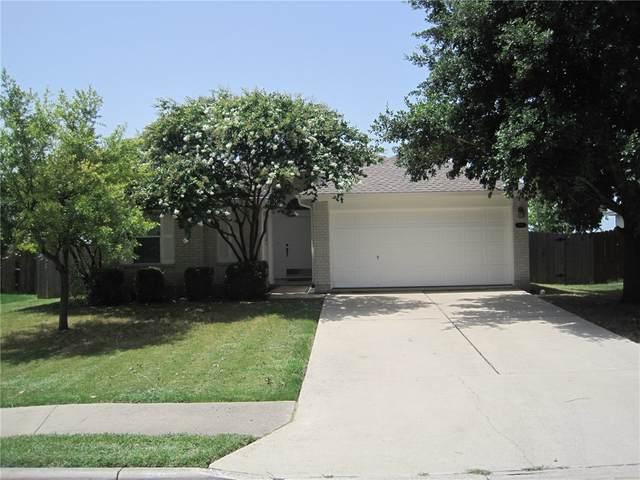 606 Stewart Dr, Hutto, TX 78634 (#3692525) :: Service First Real Estate