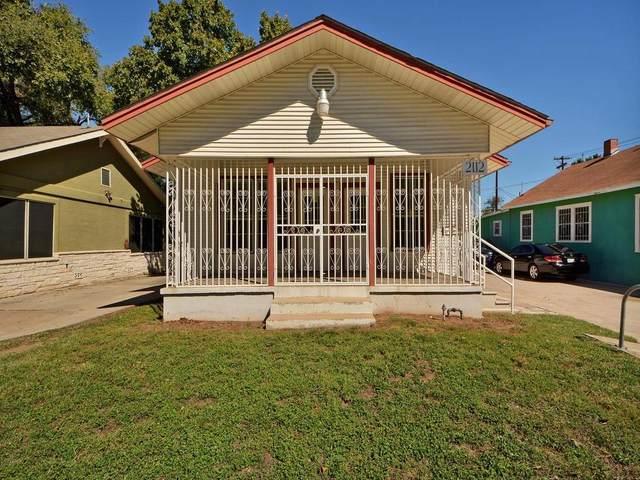 2122 E Cesar Chavez St, Austin, TX 78702 (#3718503) :: Green City Realty