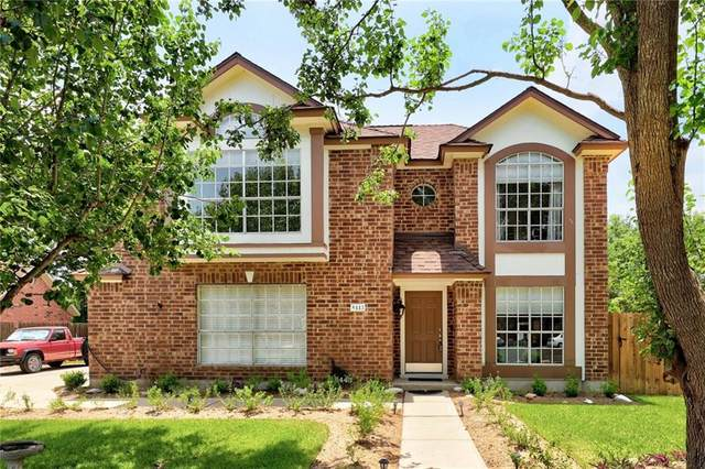 8443 Fern Bluff Ave, Round Rock, TX 78681 (#3765277) :: Sunburst Realty