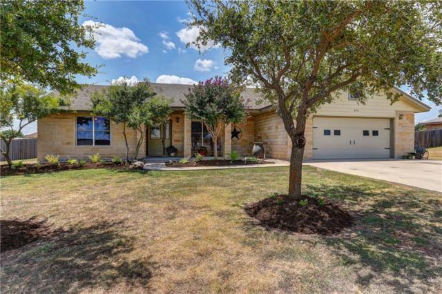 313 Meadow Valley Loop, Jarrell, TX 76537 (#3778708) :: Papasan Real Estate Team @ Keller Williams Realty