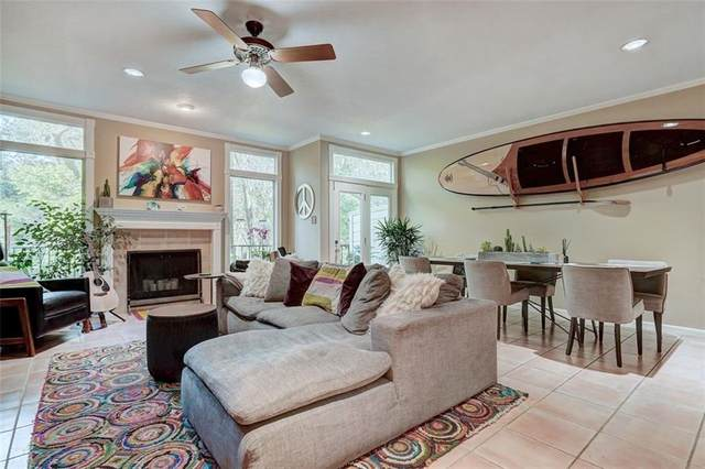 3421 Pecos St A-4, Austin, TX 78703 (#3778921) :: The Perry Henderson Group at Berkshire Hathaway Texas Realty