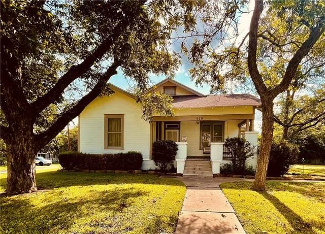 918 Talbot St, Taylor, TX 76574 (#3810252) :: Papasan Real Estate Team @ Keller Williams Realty