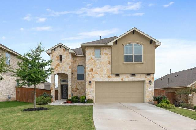 112 Blue Waterleaf Ln, Georgetown, TX 78626 (#3861787) :: Service First Real Estate