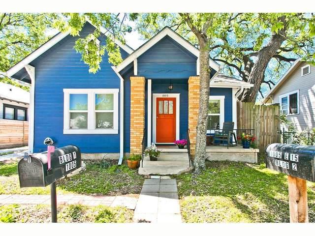 1005 E 15th St 1&2, Austin, TX 78702 (#3890901) :: Papasan Real Estate Team @ Keller Williams Realty