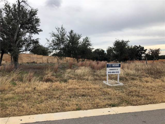 18 Highland Springs Ln, Georgetown, TX 78633 (#3910411) :: 12 Points Group