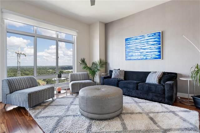 603 Davis St #2008, Austin, TX 78701 (#3925272) :: Ben Kinney Real Estate Team