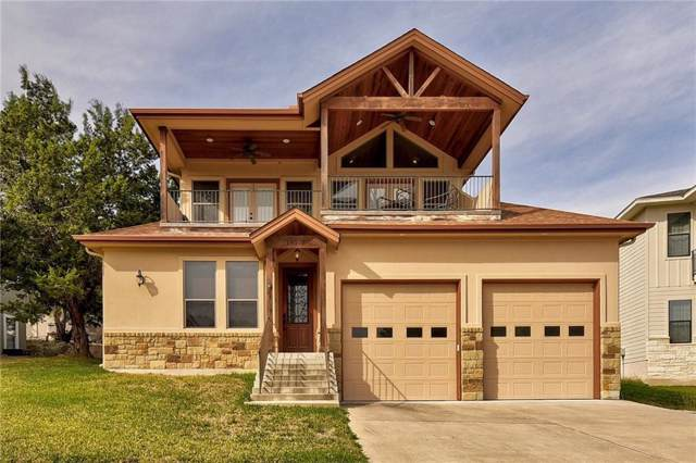 18514 Staghorn Dr, Point Venture, TX 78645 (#3935231) :: Kourtnie Bertram | RE/MAX River Cities