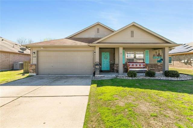 124 Waterlily Way, Hutto, TX 78634 (#3935588) :: The Perry Henderson Group at Berkshire Hathaway Texas Realty