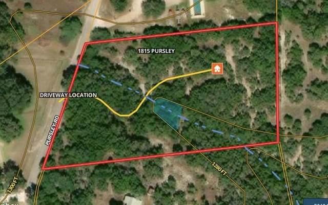 1815 Pursley Rd, Dripping Springs, TX 78620 (#3993294) :: Watters International