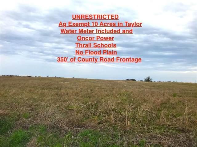 000 County Road 423, Taylor, TX 76574 (#4022860) :: Papasan Real Estate Team @ Keller Williams Realty