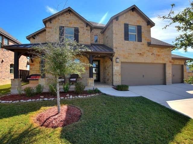 221 Mindy Way, Liberty Hill, TX 78642 (#4036406) :: First Texas Brokerage Company