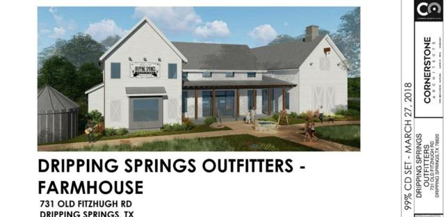 731 Old Fitzhugh Rd, Dripping Springs, TX 78620 (#4036608) :: Realty Executives - Town & Country