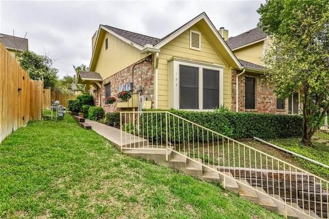 11901 Swearingen Dr #103, Austin, TX 78758 (#4120431) :: Papasan Real Estate Team @ Keller Williams Realty