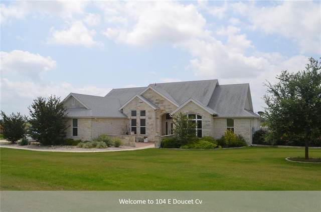 104 E Doucet Cove, Hutto, TX 78634 (#4121079) :: The Summers Group