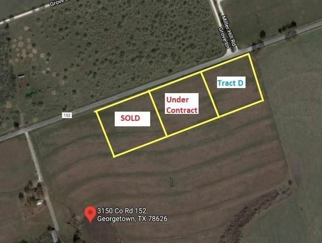 Tract D County Road 152, Georgetown, TX 78626 (#4126826) :: Watters International