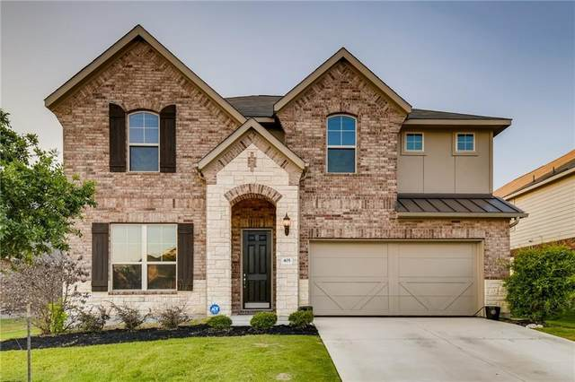 405 Farm Creek Dr, Hutto, TX 78634 (#4175649) :: Front Real Estate Co.